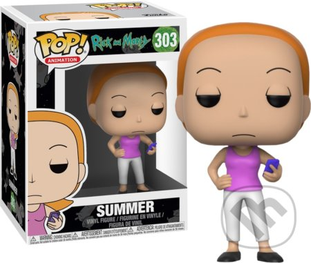 Funko POP! Animation: Rick and Morty Summer -