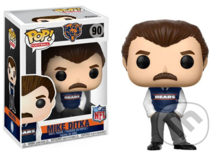 Funko POP! Football NFL Legends: Mike Ditka (Bears Coach) -
