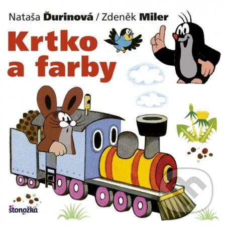 Krtko a farby - Zdeněk Miler, Nataša Ďurinová