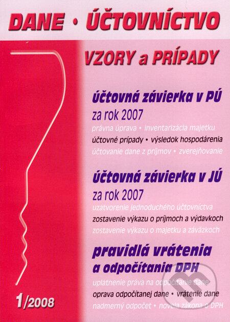 Fatimma.cz Dane, účtovníctvo 1/08 Image