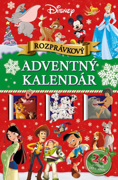 Fatimma.cz Disney: Rozprávkový adventný kalendár Image