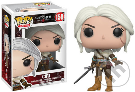 Funko POP! Games The Witcher 3 Wild Hunt: Ciri -