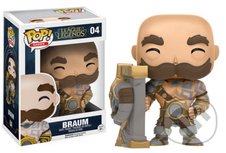 Funko POP! Games: League of Legends Braum -