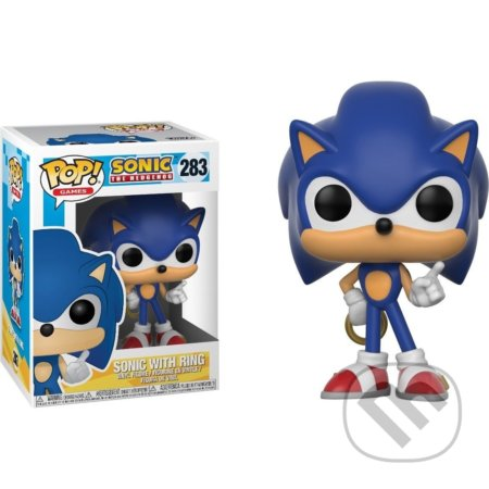 Funko POP! Games: Sonic: Sonic with Ring -