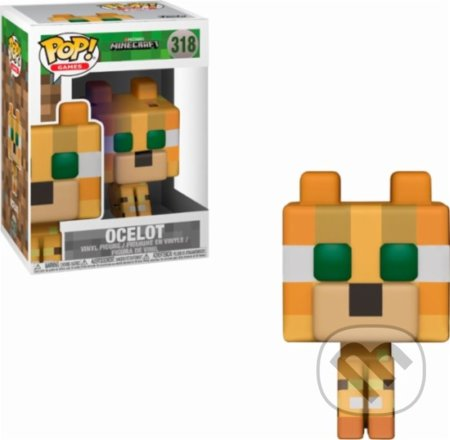 Funko POP! Minecraft: Ocelot - fa