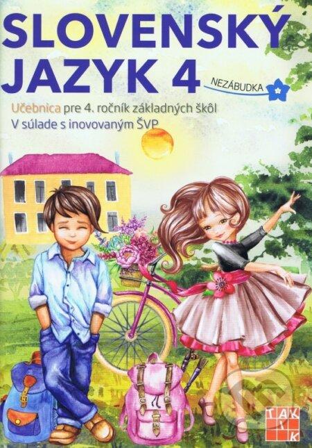 Slovenský jazyk 4 - Ľuba Anhová Nguyenová