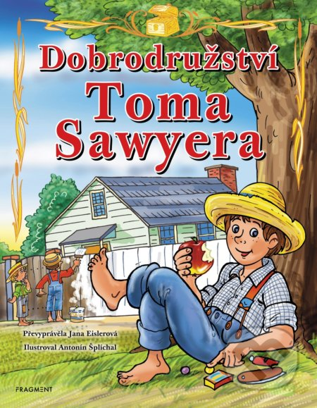 Fatimma.cz Dobrodružství Toma Sawyera (pro děti) Image