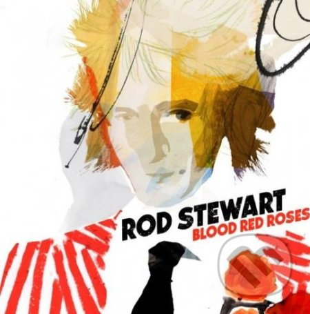 Rod Stewart: Blood Red Roses LP - Rod Stewart