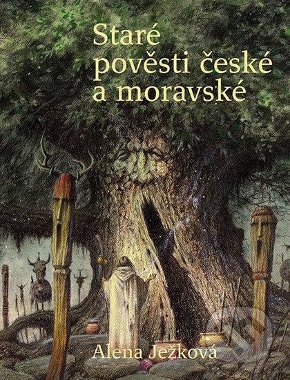Staré pověsti české a moravské - Alena Ježková, Lubomír Kupčík (ilustrátor)