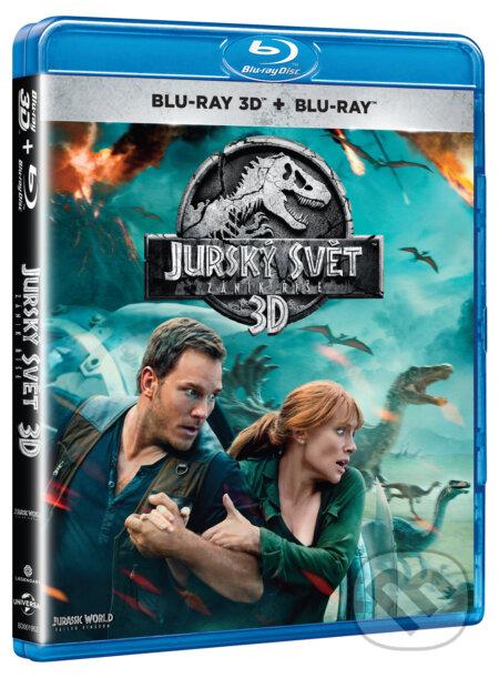 3989ba92a Film: Jurský svet: Zánik ríše 3D (J.A. Bayona) (Blu-ray3D) | Martinus
