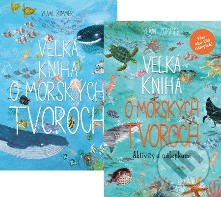 Fatimma.cz Veľká kniha o morských tvoroch (kniha + aktivity s nálepkami) Image