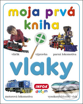 Moja prvá kniha: Vlaky - INFOA