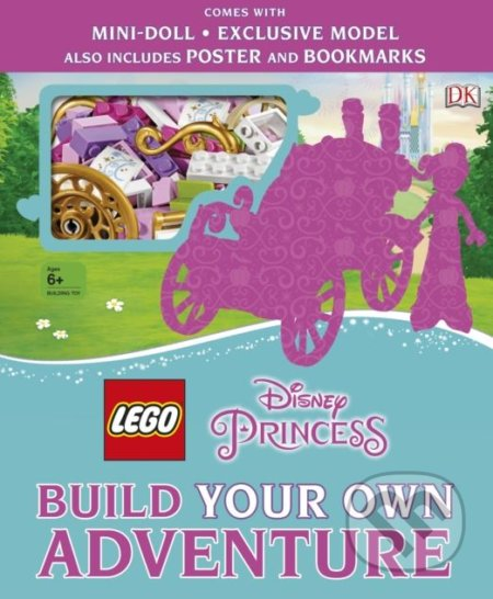 LEGO Disney Princess Build Your Own Adventure - Tim Johnson, Beth Davies, Julia March