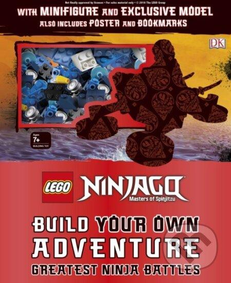 LEGO NINJAGO Build Your Own Adventure - Dorling Kindersley