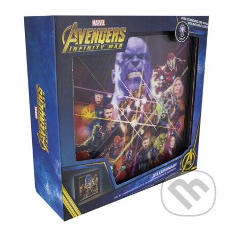 Sveteľný obraz Avengers Infinity War - Magicbox FanStyle
