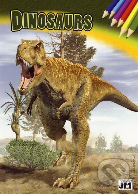 Fatimma.cz Dinosaurs (vymaľovanka) Image