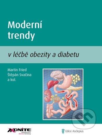 Moderní trendy v léčbě obezity a diabetu - Martin Fried, Štěpán Svačina a kolektiv