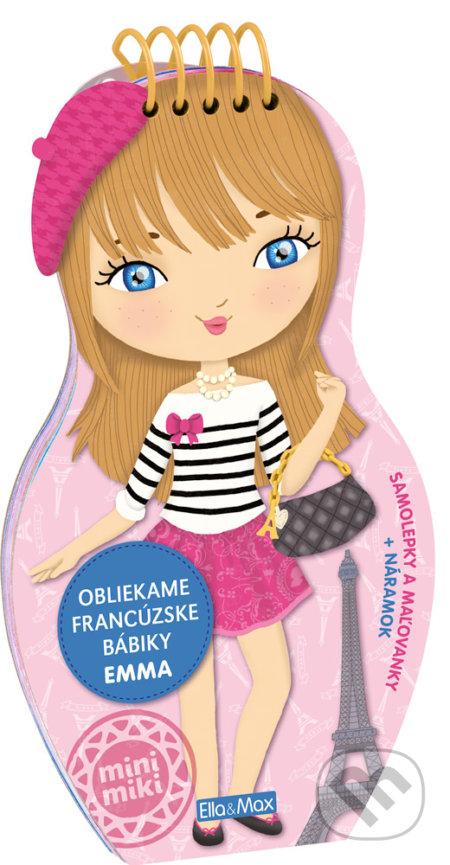 Fatimma.cz Obliekame francúzske bábiky - Emma Image