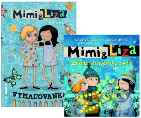 Newdawn.it Mimi a Líza - Záhada vianočného svetla + Mimi a Líza (vymaľovanka) Image