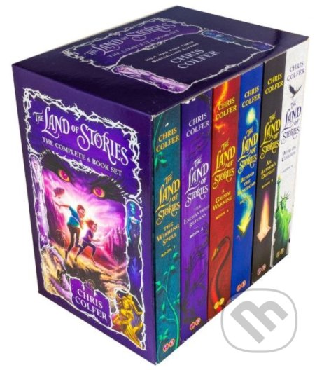 Land of Stories Boxset - Chris Colfer