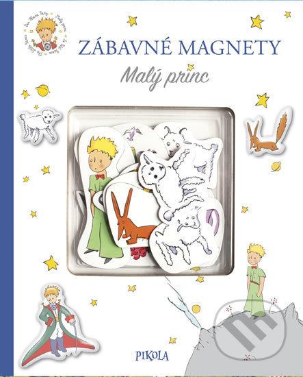 Fatimma.cz Zábavné magnety: Malý princ Image