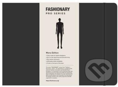 Fashionary Portfolio Mens Sketchbook -