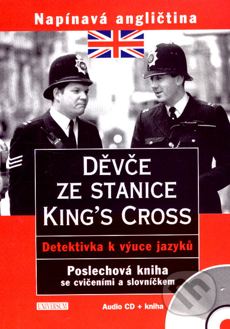 Fatimma.cz Děvče ze stanice King´s Cross (audio CD + kniha) Image