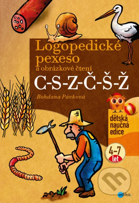 Fatimma.cz Logopedické pexeso a obrázkové čtení C-S-Z-Č-Š-Ž Image