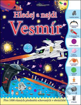 Hledej a najdi: Vesmír - Joshua George, Dan Crisp (ilustrácie)