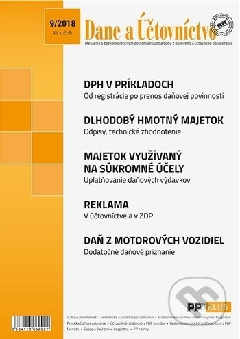 Fatimma.cz Dane a účtovníctvo 9/2018 Image