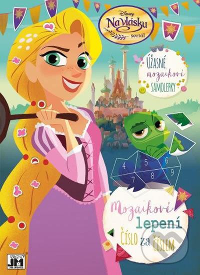 Mozaikové lepení: Na vlásku - Walt Disney
