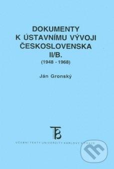 Fatimma.cz Dokumenty k ústavnímu vývoji Československa II/B. (1948-1968) Image