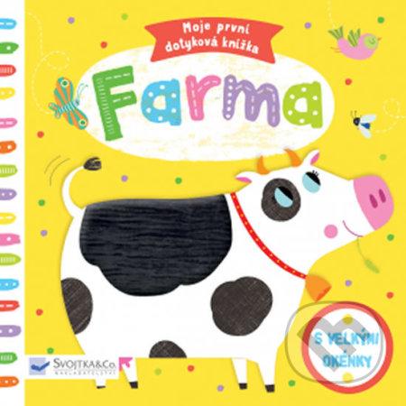 Moje první dotyková knížka: Farma - Marie-Noelle Horvath