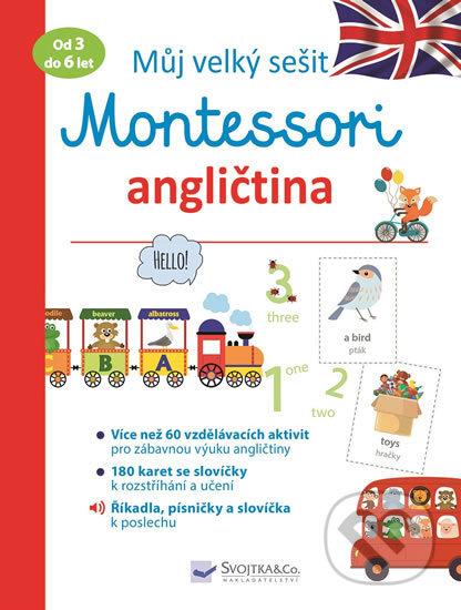 Fatimma.cz Můj velký sešit Montessori angličtina Image