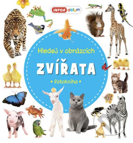 Hledej v obrázcích Zvířata - INFOA