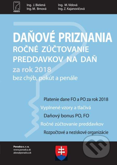 Peticenemocnicesusice.cz Daňové priznania aročné zúčtovanie preddavkov na daň za rok 2018 + vyplnené vzory a tlačivá Image
