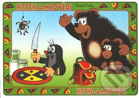 Peticenemocnicesusice.cz Krtek a medvědi / Krtko a medvede (vymaľovanka) Image
