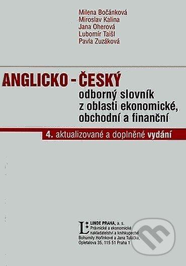 Interdrought2020.com Anglicko-český odborný slovník z oblasti ekonomické, obchodní a finanční Image