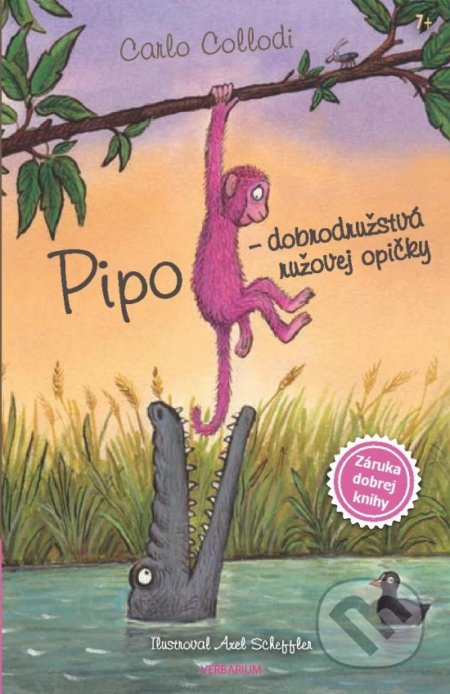 Fatimma.cz Pipo - dobrodružstvá ružovej opičky Image