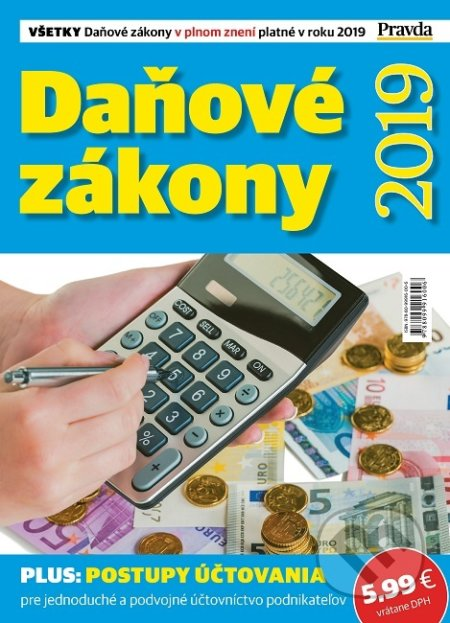 561c1ca80 Kniha: Daňové zákony 2019 (Štefan Hrčka)   Martinus