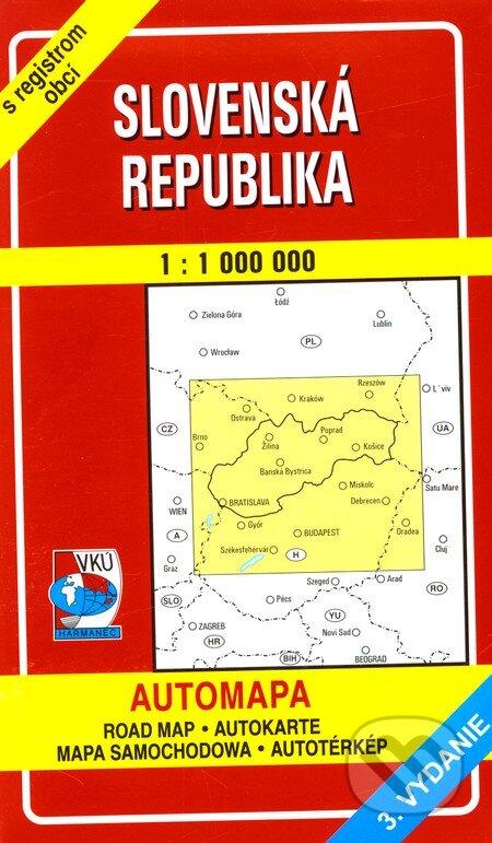 Fatimma.cz Slovenská republika 1:1 000 000 Image