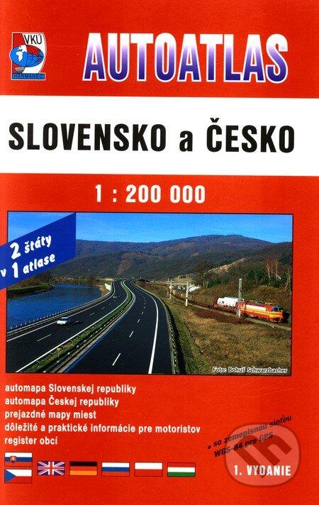 Fatimma.cz Autoatlas - Slovensko a Česko 1:200 000 Image
