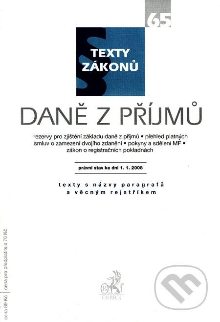 Fatimma.cz Daně z příjmů Image
