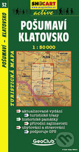 Valborberatrail.it Pošumaví, Klatovsko 1:50 000 Image