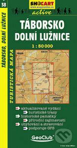 Interdrought2020.com Táborsko, Dolní Lužnice 1:50 000 Image