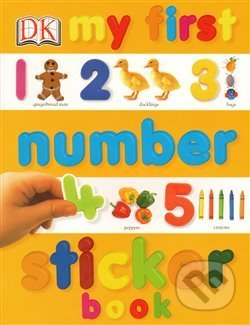 My First Number Sticker Book -