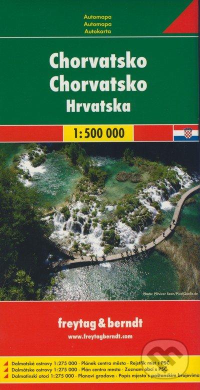 Newdawn.it Chorvatsko 1:500 000 Image