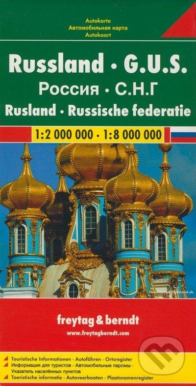 Russland, G.U.S. 1:2 000 000 1:8 000 000 - freytag&berndt