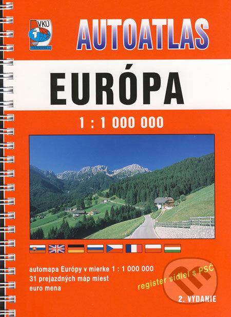 Peticenemocnicesusice.cz Autoatlas - Európa 1:1 000 000 Image