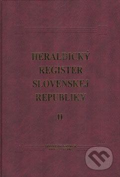 Interdrought2020.com Heraldický register Slovenskej republiky II Image